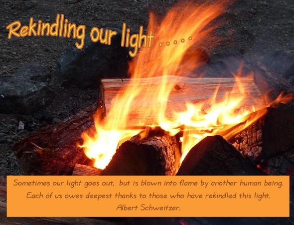Friday wishes and encouragement rekindling