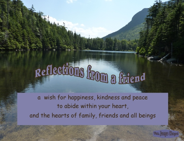 reflections happiness kindness and peace