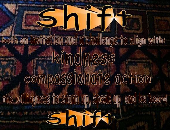 shift invitation and challenge compassionate action