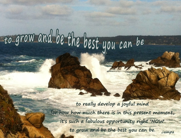 advice joyful mind to grow and be the best you can be