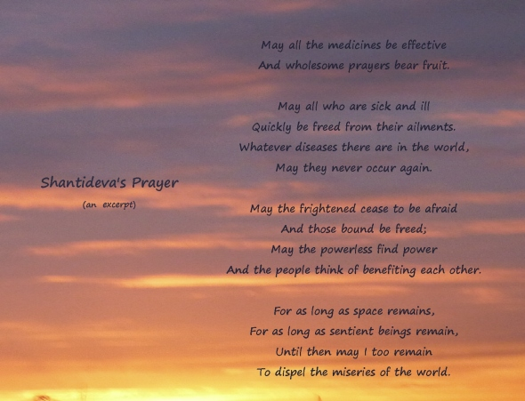 Shantideva's Prayer, another excerpt