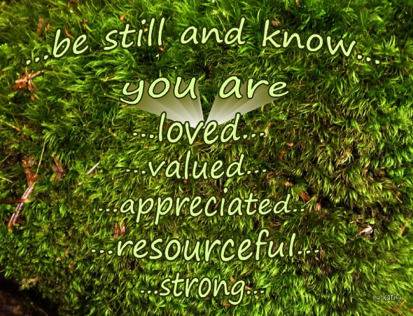 know that you are loved valued appreciated resourceful strong Friday Wishes