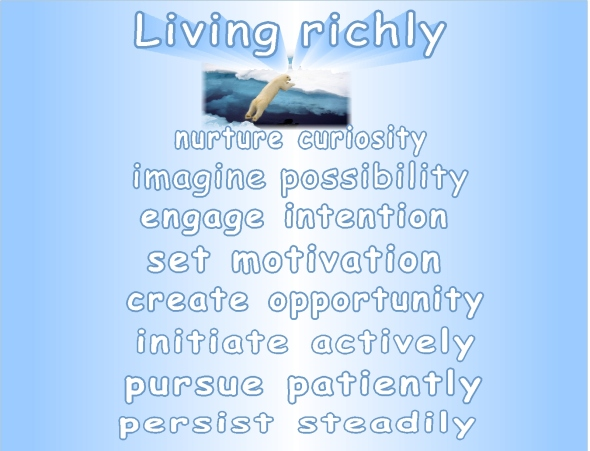 new year 2014 living richly steps and strategies